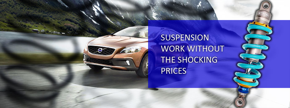 Car Suspension and Shock Absorbers in Truro